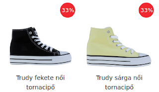 Női tornacipők rendelése itt