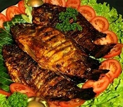 Memasak panggang ikan bumbu, cara membuat panggang ikan bumbu