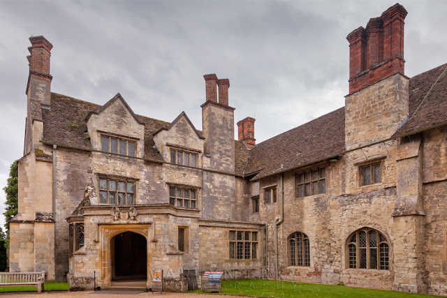 Stately home of Anglesey Abbey owned by the National Trust