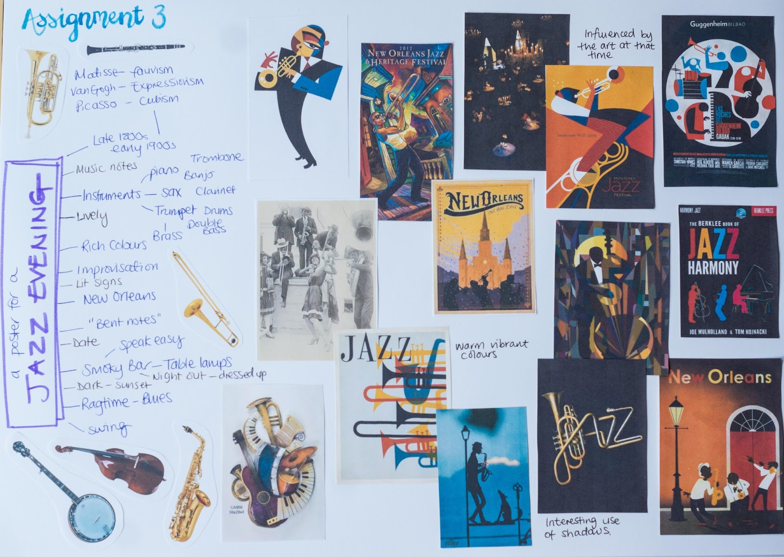 Ive Found So Many Jazz Posters Online I Was Starting To Worry Wouldnt Come Up With Anything Original Made A Board Of Some The Most