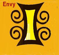 Adinkra symbol envy