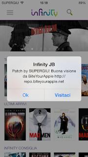 Download film da Infinity TV su iPhone 2