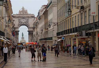 Baixa Lisbon Portugal