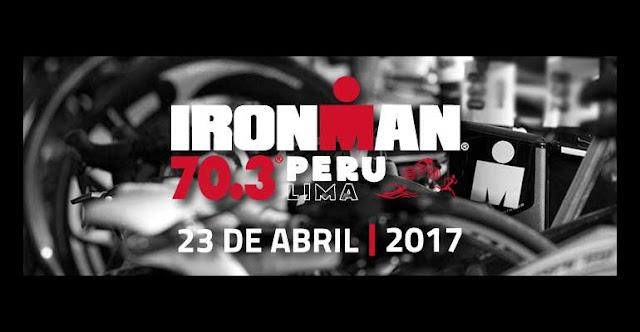 Triatlon juego de competencia en Chorrillos Lima