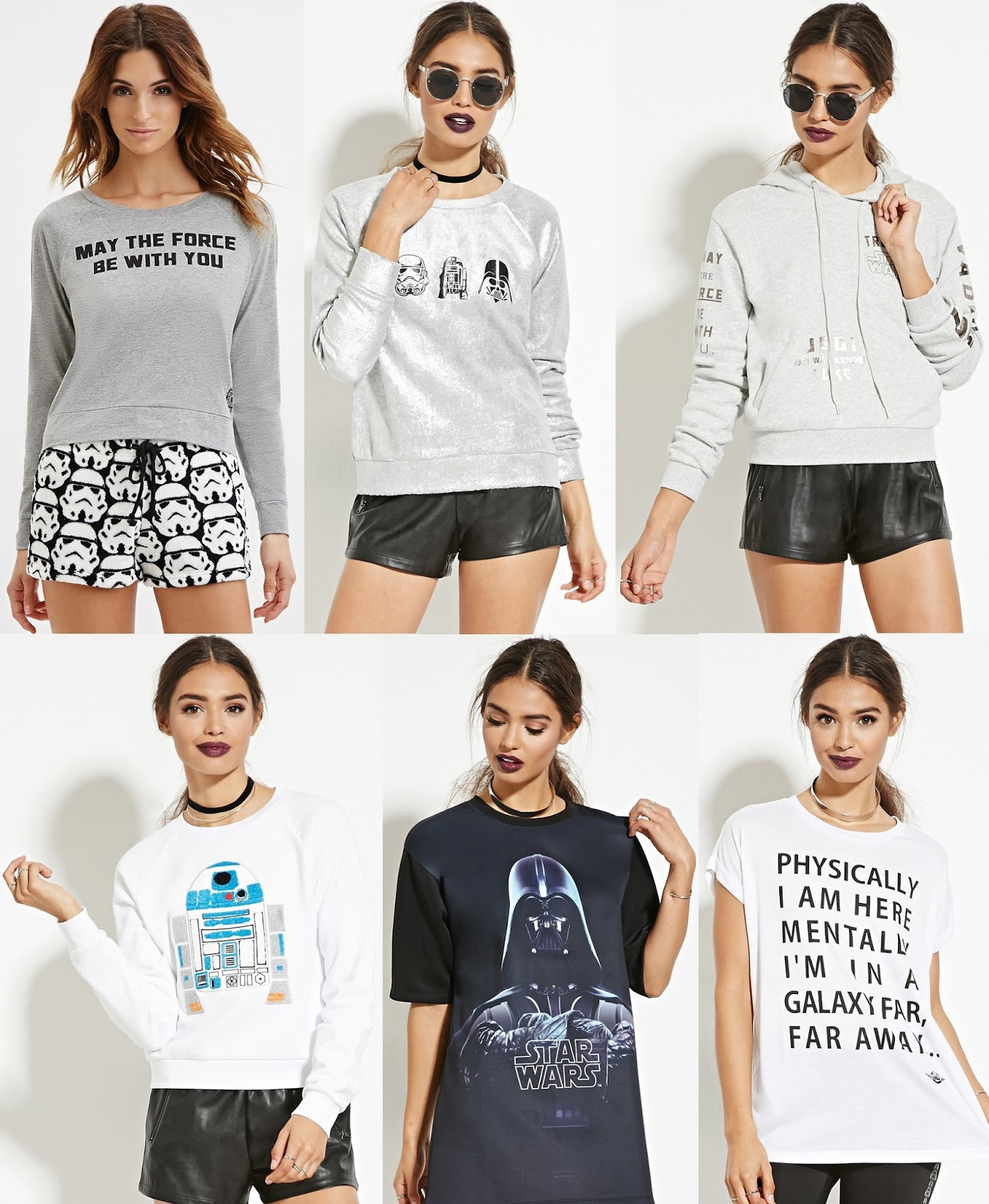 The Blot Says...: Star Wars x Forever 21 T-Shirt Collection