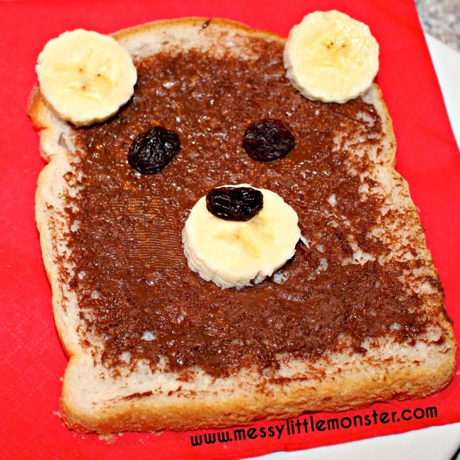 Teddy Bear Bread Messy Little Monster