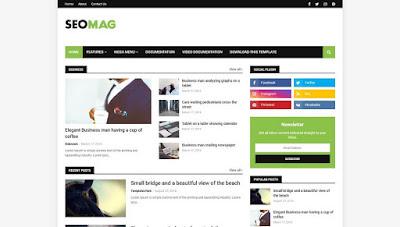 Seo Mag - Responsive Blogger Template