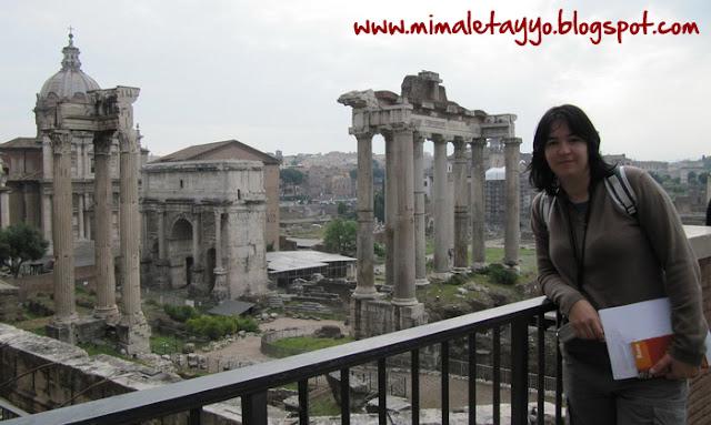 Vistas del foro de Roma