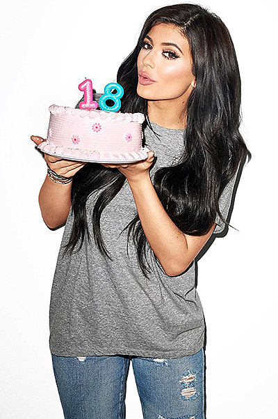 Kylie Jenner just turned 18