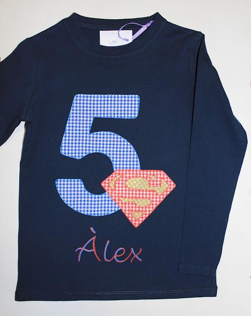 camiseta-cumpleaños-5años-superman