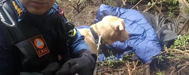Άρτα: Ο Σκύλος Της 6ης ΕΜΑΚ . ..Ένας Μικρός Σωτήρας 70χρονου Που Αγνοούνταν ..
