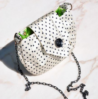 eSheep Designs' MyTie Makeover Mini Bag crafted by Alice Moroni