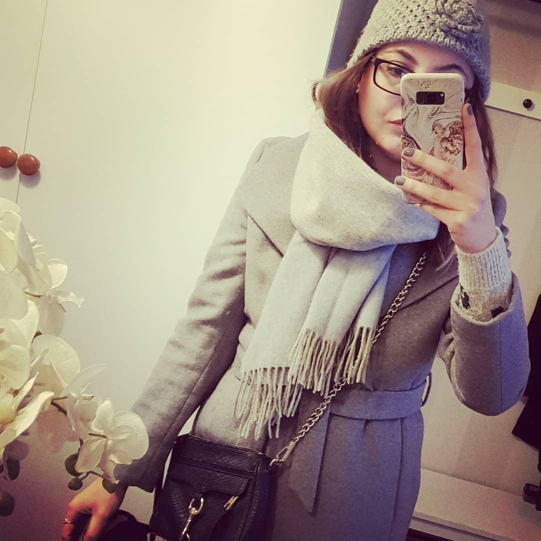 Любимите ми неща през февруари 2019 -  палто Esprit, вълнен шал Soya Concept