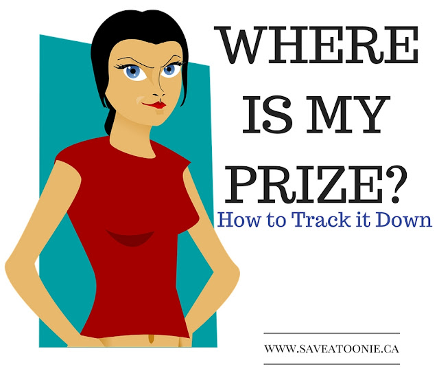 How to Track Down a Missing Prize
