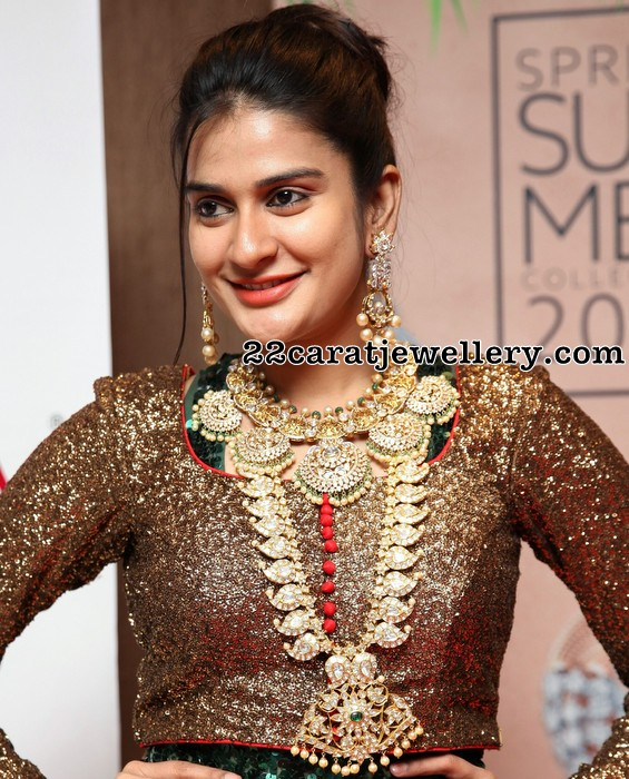 Jenny Honey in Jaipur Jeweller Expo