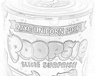 Coloring Pages Poopsie Slime Surprise Unicorn Coloring