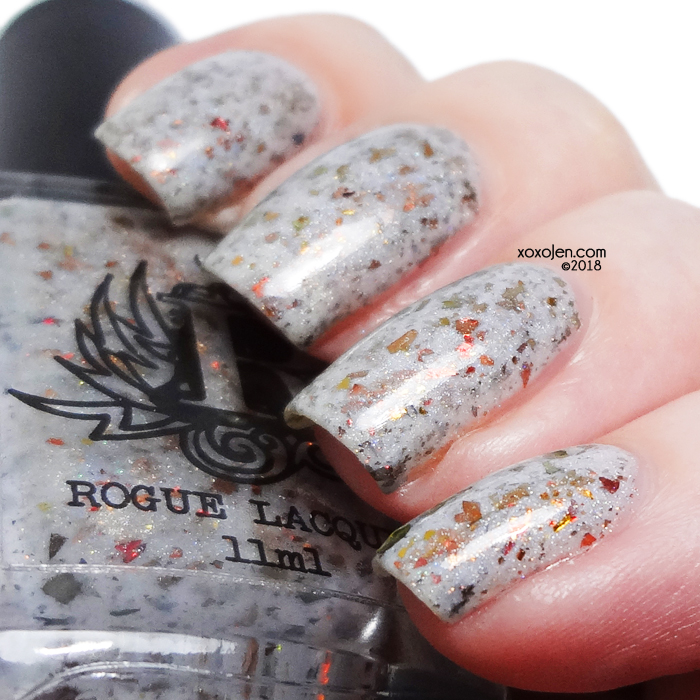 xoxoJen's swatch of Rogue Lacquer Petrified forest