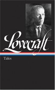 Tales / H. P. Lovecraft