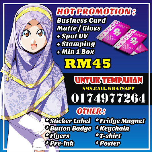Promotion Business Card Murah!!