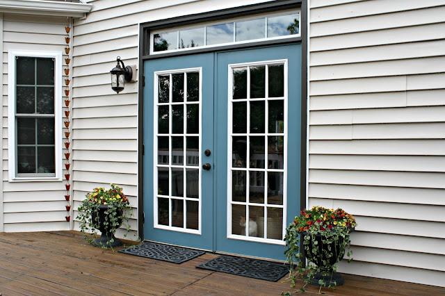 Our Pretty New Patio Doors From Thrifty Decor Chick