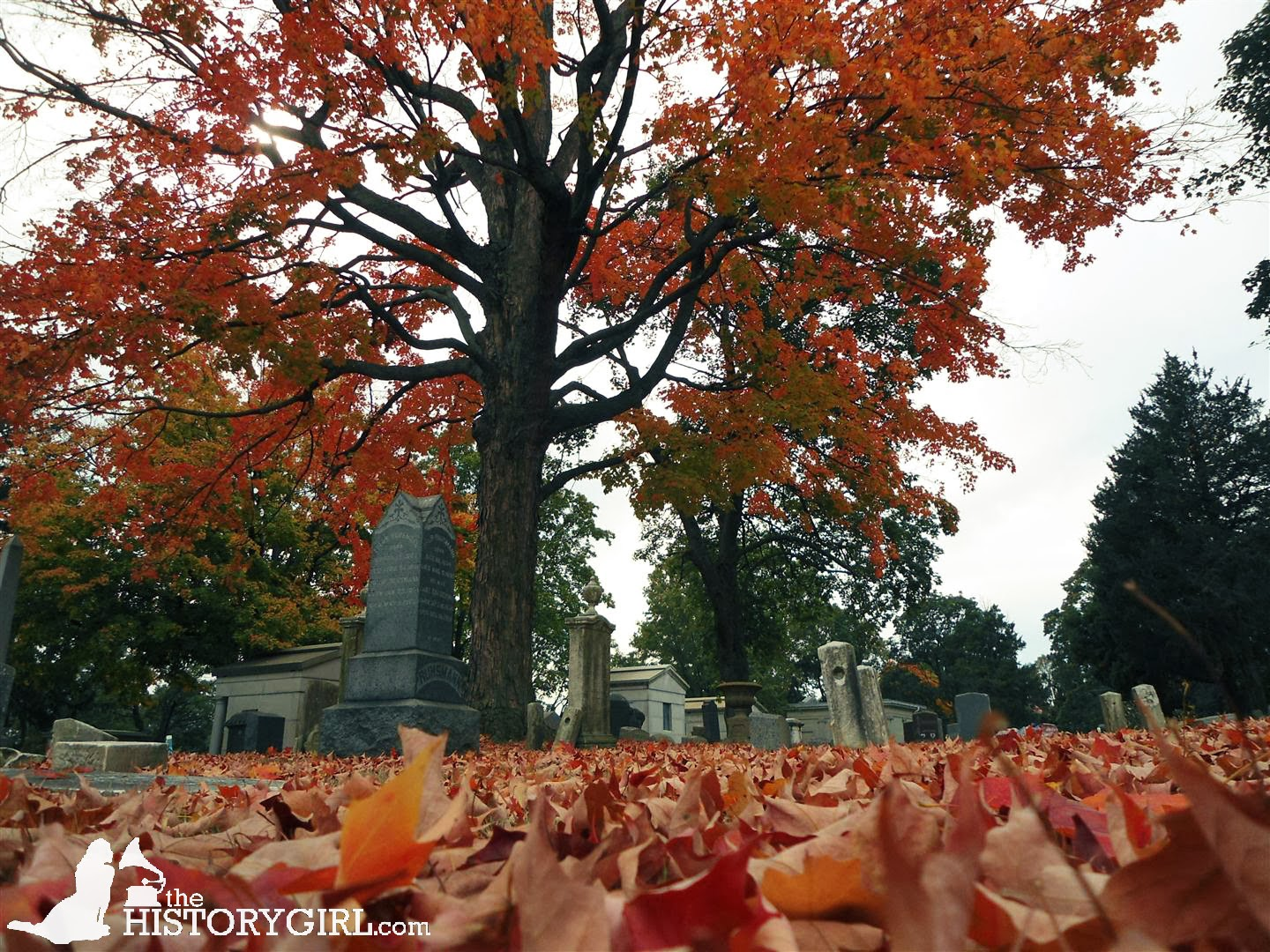 Strolling the Serpentine Paths at Evergreen Cemetery ~ The History Girl!