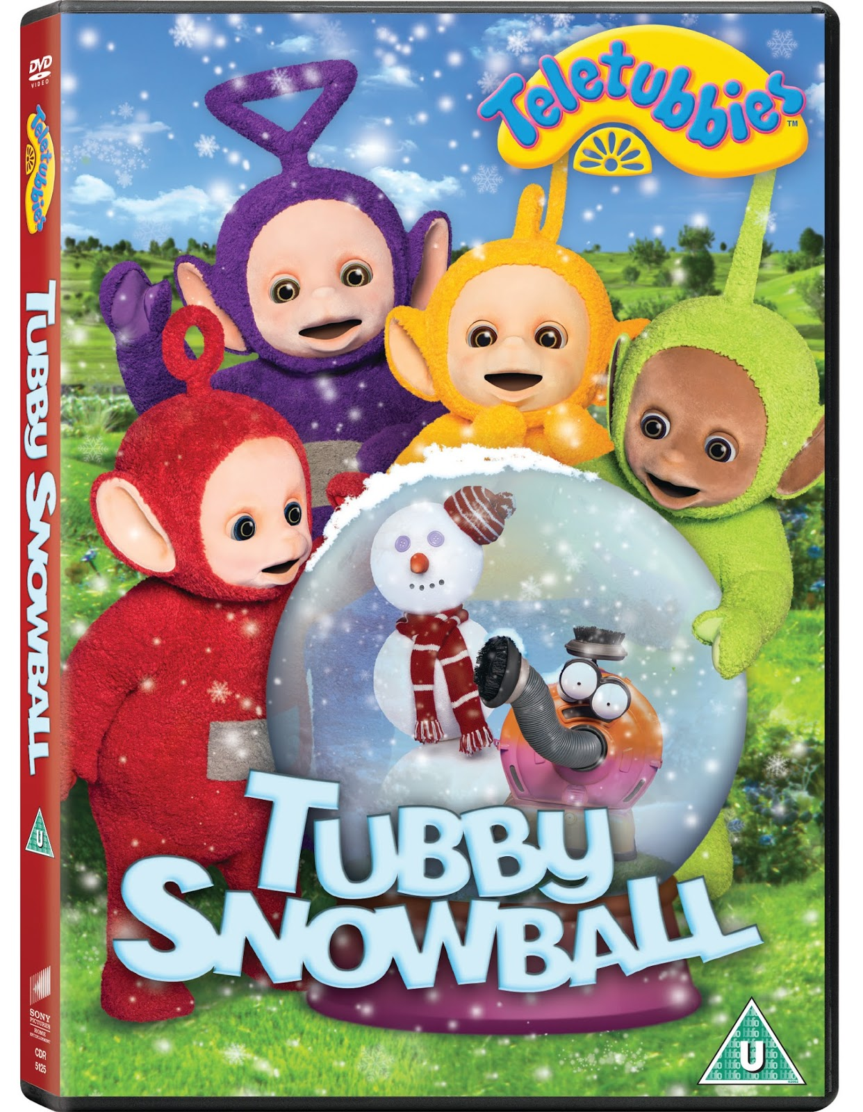 Christmas Giveaway: Teletubbies Tubby snowball on DVD | Joanna Victoria