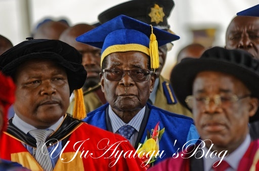 Breaking: Mugabe Makes First Public Appearance Since Overthrow
