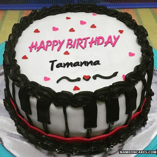 Chocolate Full Cake Happy Birthday Tamanna