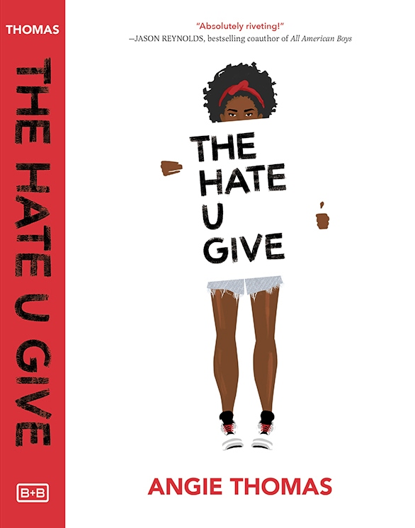 The Hate U Give, by Angie Thomas has been hovering at or near the top of  The New York Times' Young Adult Hardcover bestseller list for 25 weeks now.