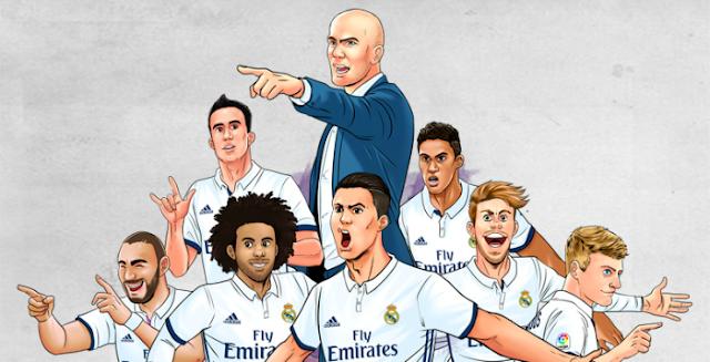 ريال مدريد يتأهل الي ربع نهائي كاس اسبانيا وينفرد بالرقم القاسي