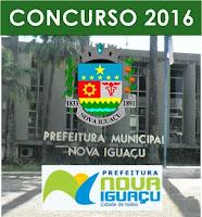 Apostila Prefeitura de Nova Iguaçu 2016