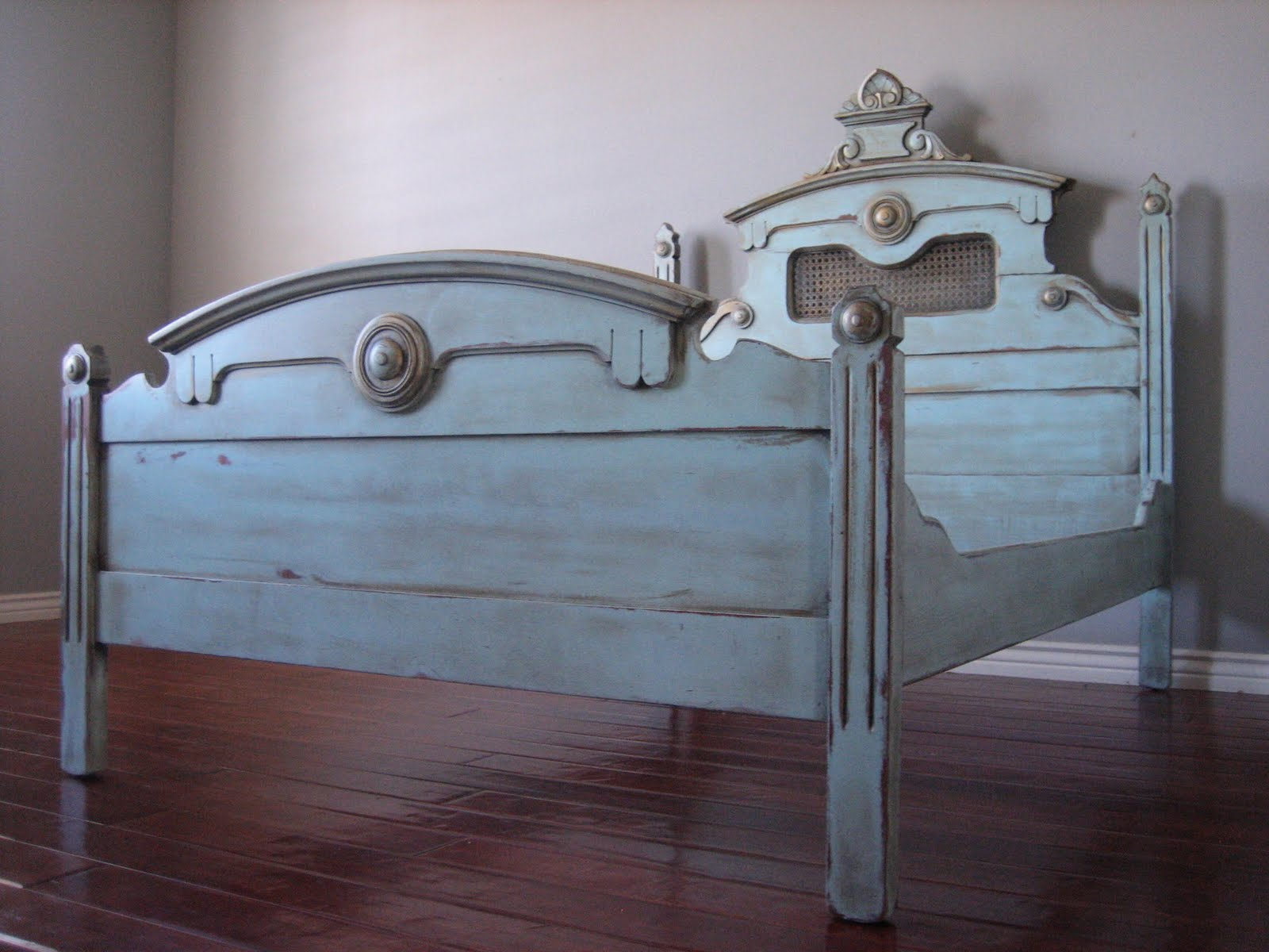European paint finishes whimsical bed for Bedroom furniture 85225