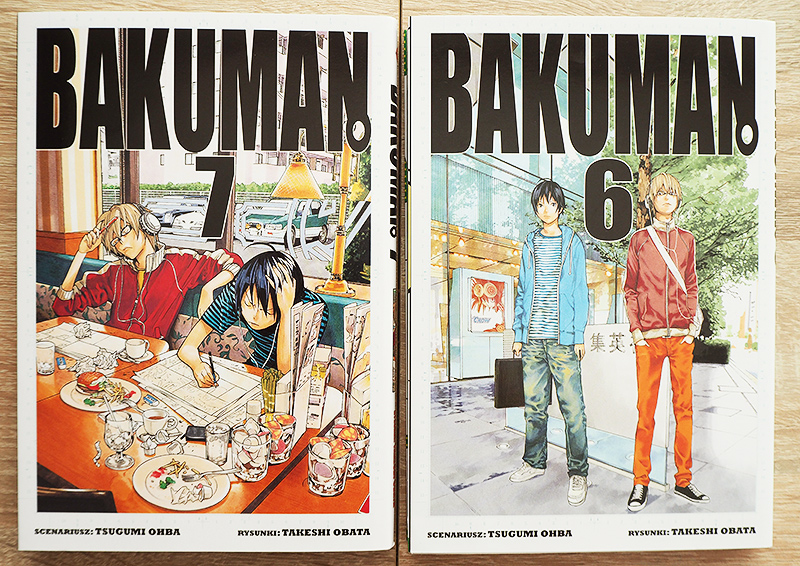Bakuman manga po polsku