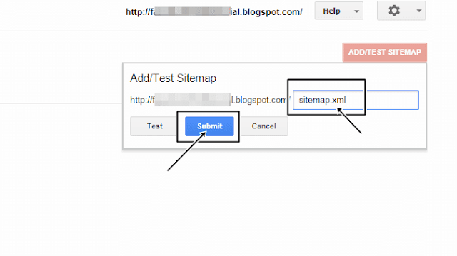 how to submit blogger sitemap to google webmaster tools, blogspot blog ki sitemap ko google search console me submit kaise kare, blogspot tutorial in hindi, blogger tutorial in hindi