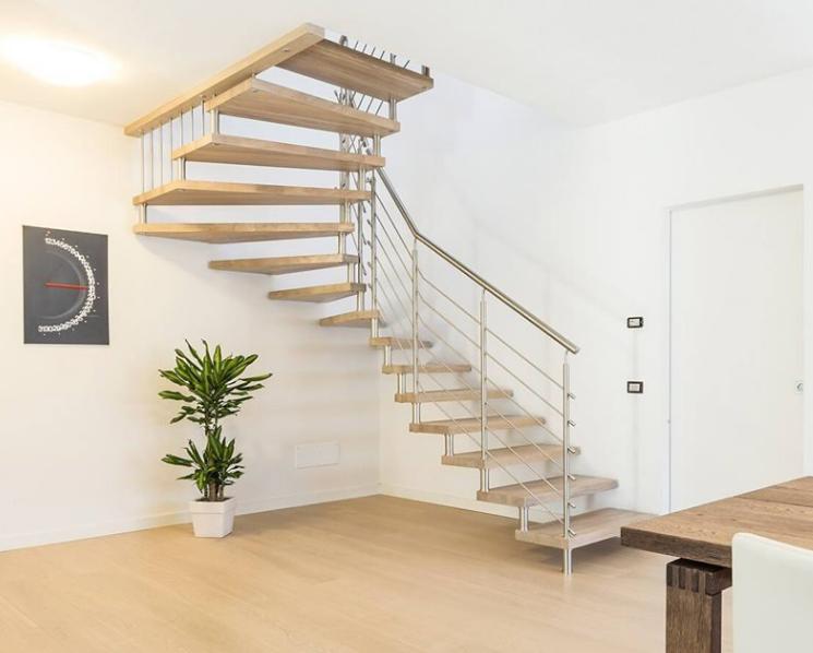 Contoh Desain Tangga Rumah Minimalis Ukuran Kecil