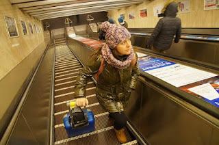 escaleras mecanicas metro budapest