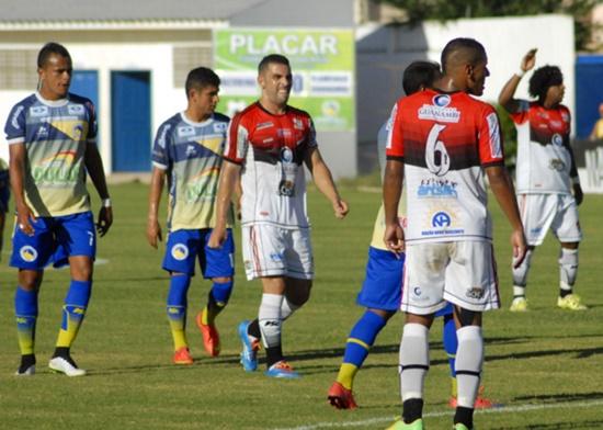 Jacobina vence o Flamengo de Guanambi