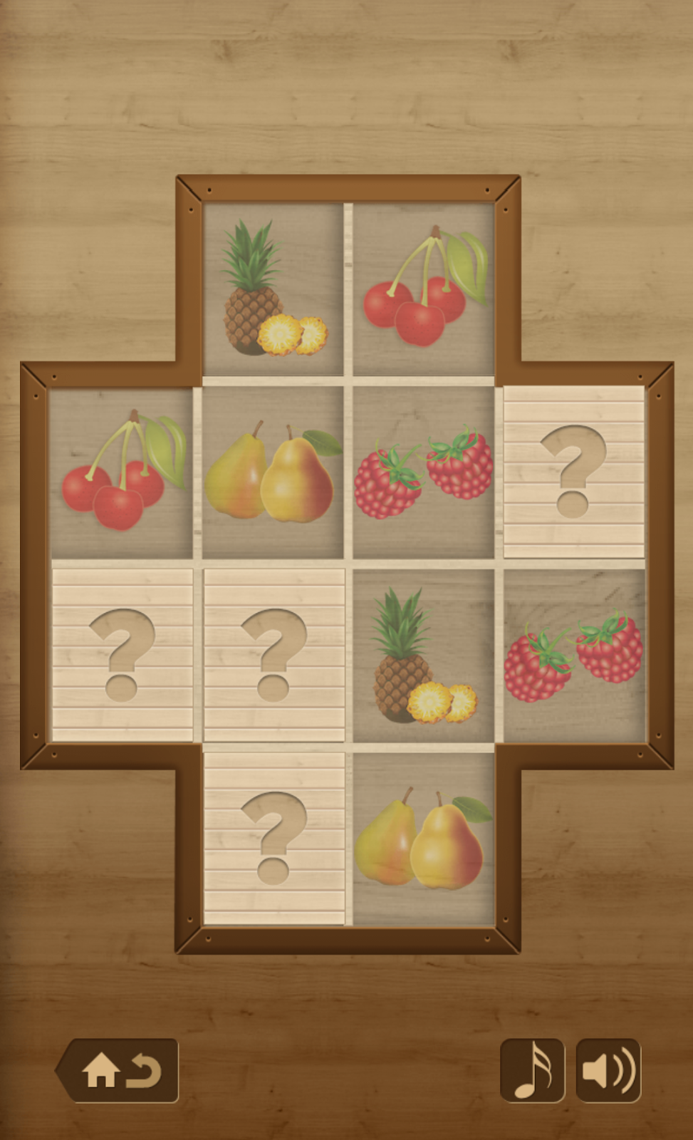 Memory Match Food Oyun Ekranı
