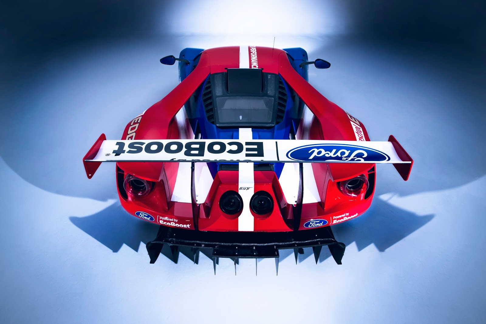 FordGT 2016 WEC rear Η Ford με το GT Race Car επιστρέφει στους αγώνες αντοχής και μας παρουσιάζει τους οδηγούς της Ford, Ford GT, World Endurance Championship