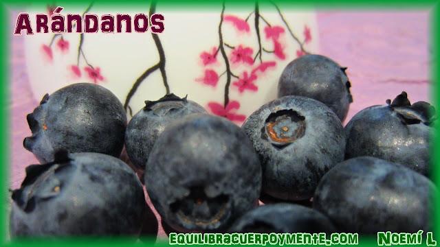 Arandanos. Beneficios de los arandanos.