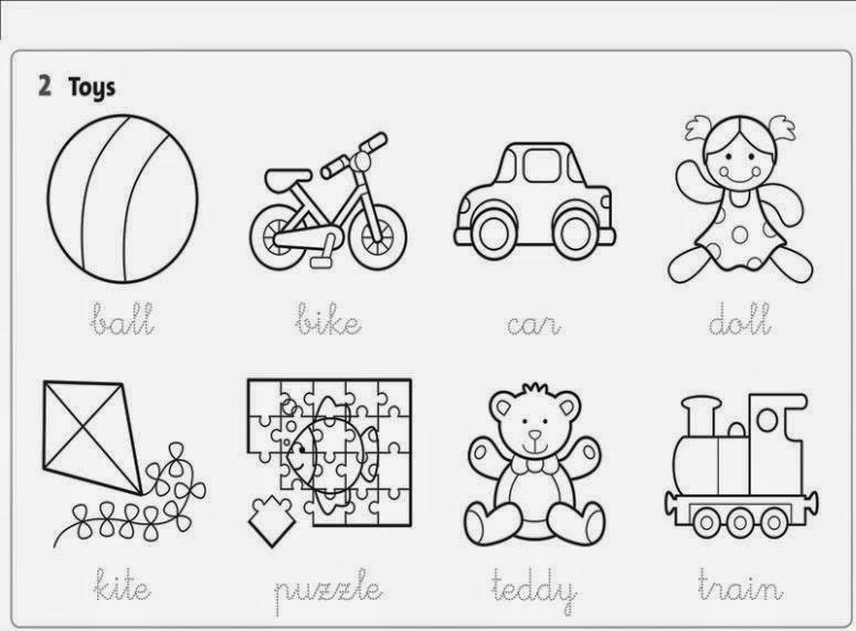 My bilingual class: Unit 2: Playtime! (vocabulary)