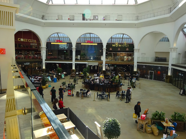 Interior Corn Exchange Manchester Photo