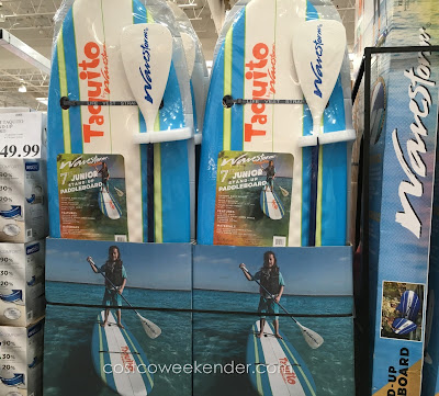 Enjoy the outdoors and the water with the Wavestorm Taquito Junior Stand-up Paddleboard