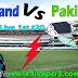 Live Pakistan Vs Scotland 1st T20 2018