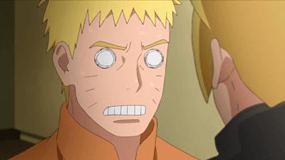 Naruto se entera que Boruto despertó el Byakugan