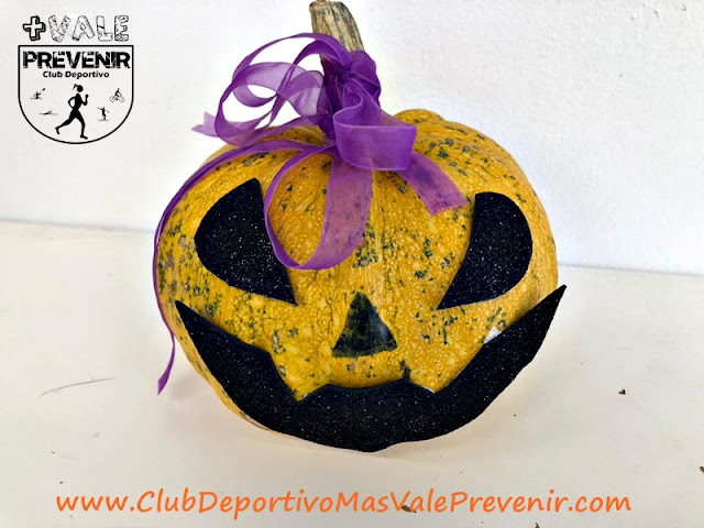 calabaza decorada halloween