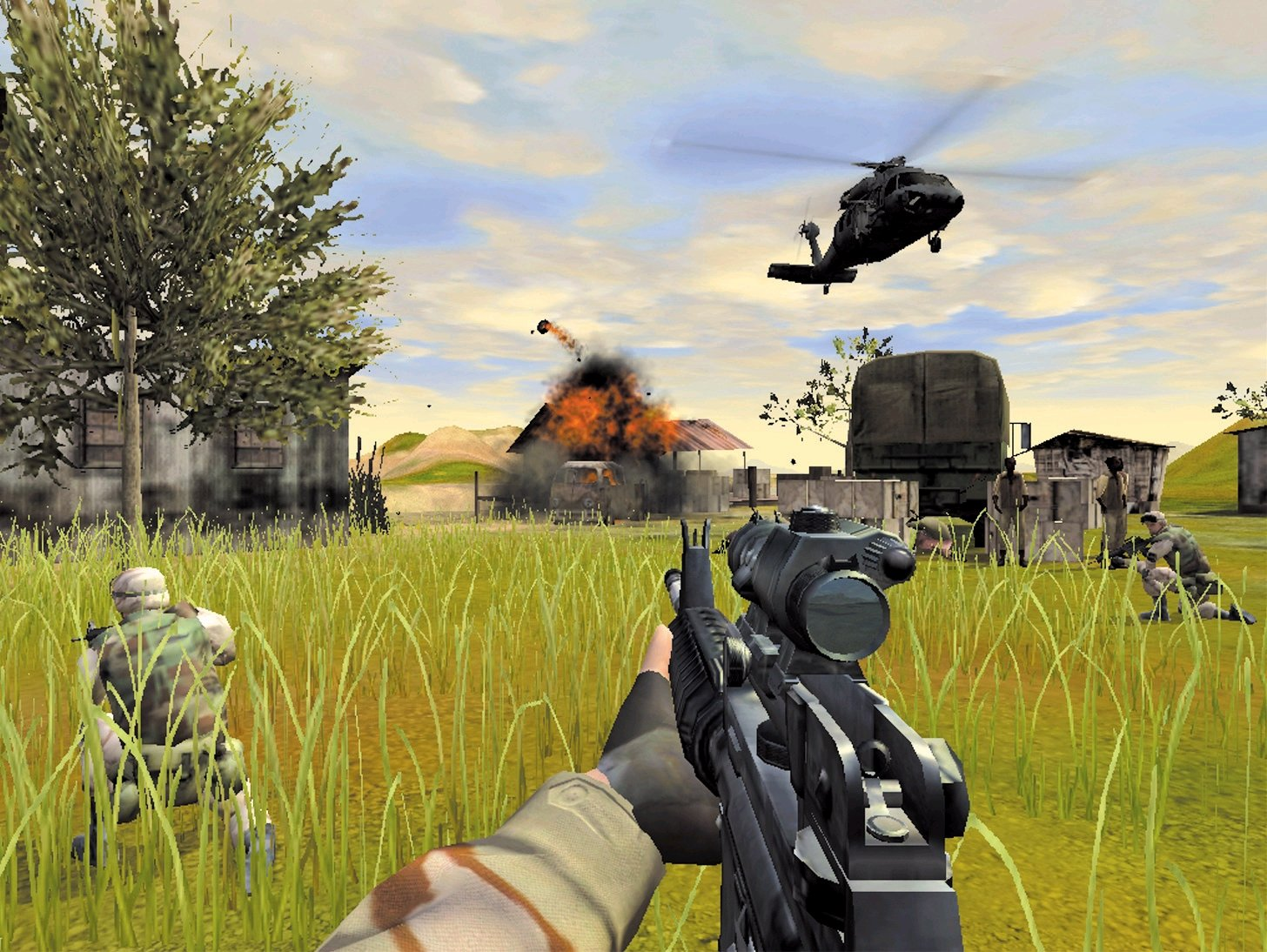 Games Mania: Delta Force: Black Hawk Down Game Wallpapers