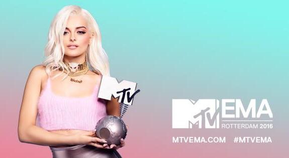 MTVEMA 2016