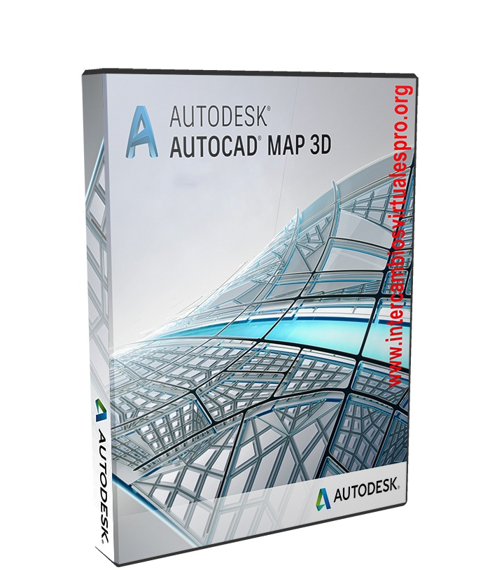Autodesk AutoCAD Map 3D 2018 poster box cover