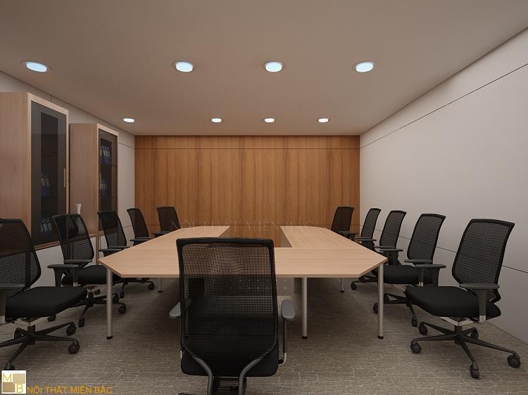 Mẫu thiết kế nội thất phòng họp hiện đại